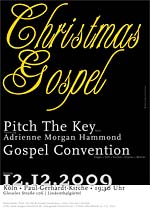 Plakat Pitch The Key & Gospel Convention
